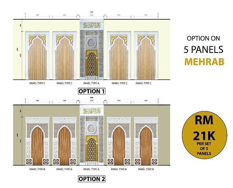 Mehrab 5 Panels I-NAI Venture Holdings